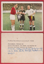 West Germany v Switzerland Seeler @ Sheffield Wednesday